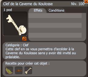 clef Caverne du Koulosse